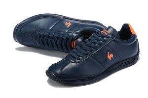 Image 5 - Le Coq Sportif מקרית עור סינטטי גברים של נעלי ספורט לנשימה אופנה גברים ונשים זוג נעלי ריצה (גודל: 36 44)