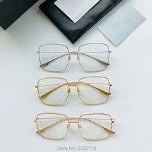 Stellaire1-gafas de metal para mujer, monturas ópticas para miopía, con funda original