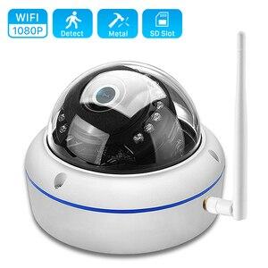 Image 1 - ANBIUX caméra de surveillance extérieure IP Wifi hd 2MP, anti vandalisme, 1080P 720P, P, Vision nocturne, anti vandalisme, port SD et application Yoosee
