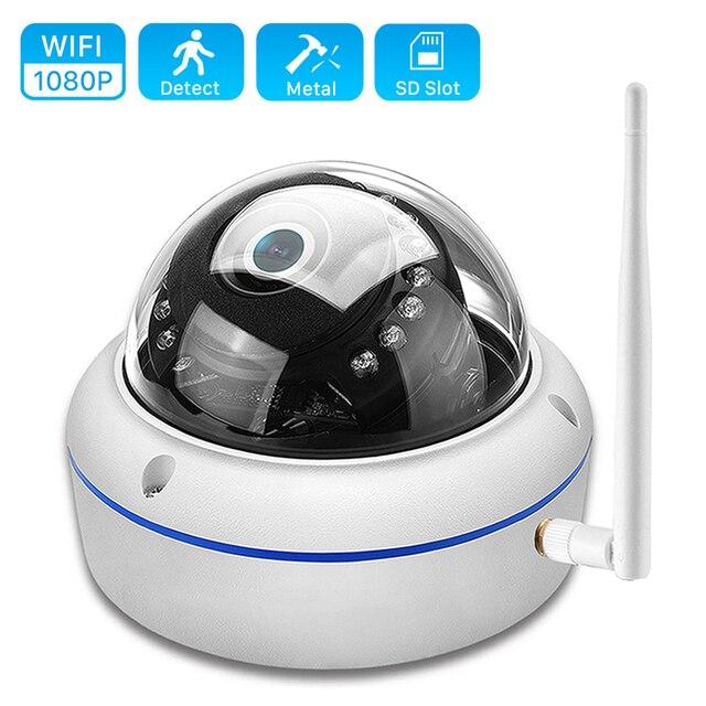 Anbiux 2MP Camera Wifi SD 32G Thẻ Ứng Dụng Yoosee IP ONVIF Camera 1080P 720P Hồng Ngoại 20M tầm Nhìn Ban Đêm Kẻ Phá Hoại Chống Thẻ SD Camera Ngoài Trời