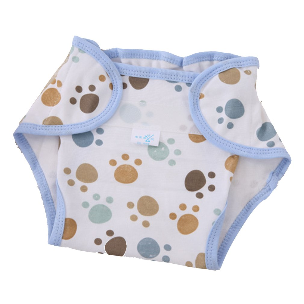 Reusable Nappies Cloth Full Cotton Newborn Baby Natural Diapers Comfortable 6 Layers Washable Baby Care Training Pants Supplies