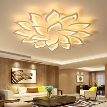 Modern Led Chandelier-Lights Ceiling-Lamp Bedroom Kitchen Suspended Dining New The Hall
