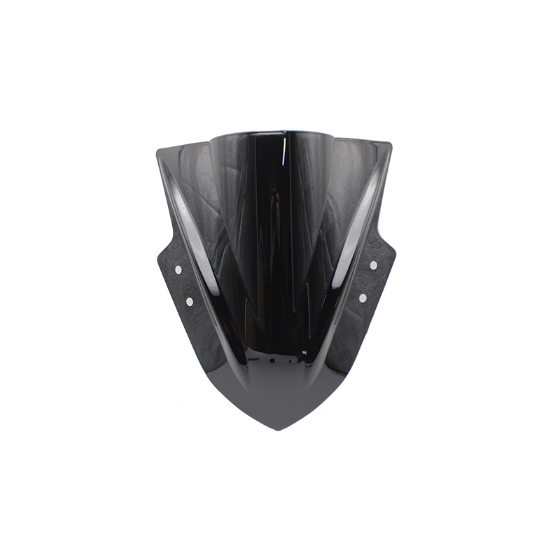 For Kawasaki Ninja 300 R EX300 EX300R Ex300 R 2013 2014 2015 2016 2017 Black Windshield WindScreen Double Bubble EX 300 R