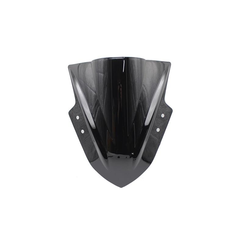 For Kawasaki Ninja 300 R EX300 EX300R Ex300 R 2013 2014 2015 2016 2017 Black Windshield WindScreen Double Bubble EX 300 R