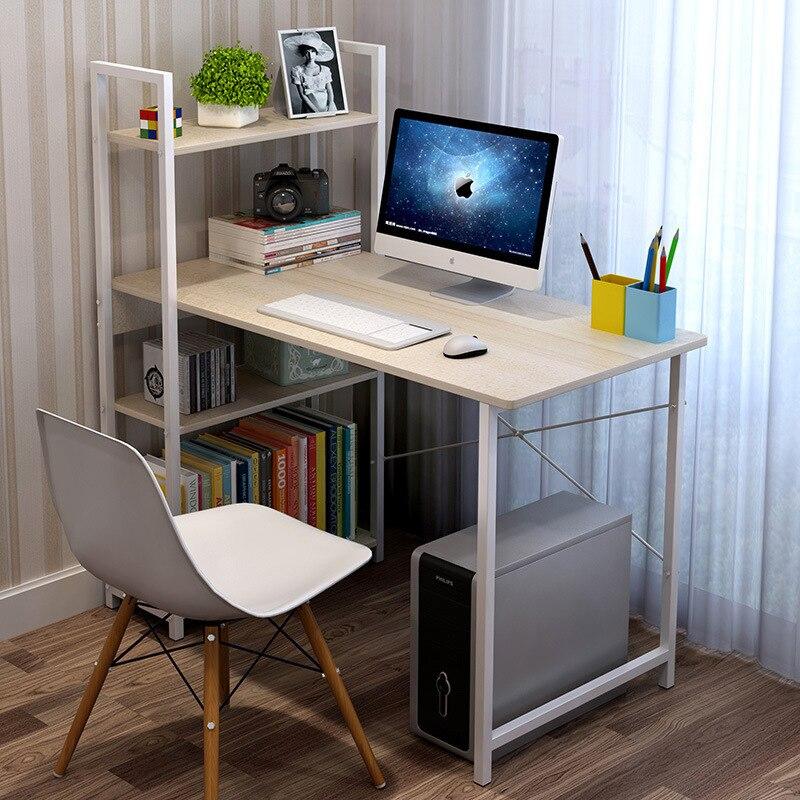 Man Patriarch Home Desktop Computer Desk Economical Desk Minimalist Modern Computer Table Simple Bookcase Office Desk