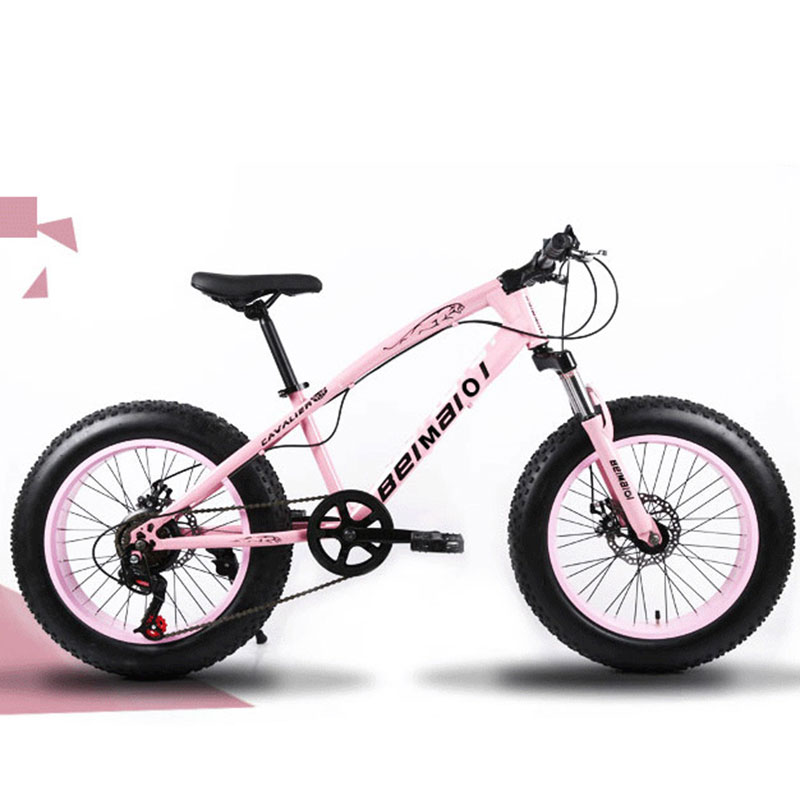 Mountain Bike Beach Snow Bike 4.0 Super Wide Tires 20/24/26 Inch Speed Off-road Bicycles Male And Female Students Adult