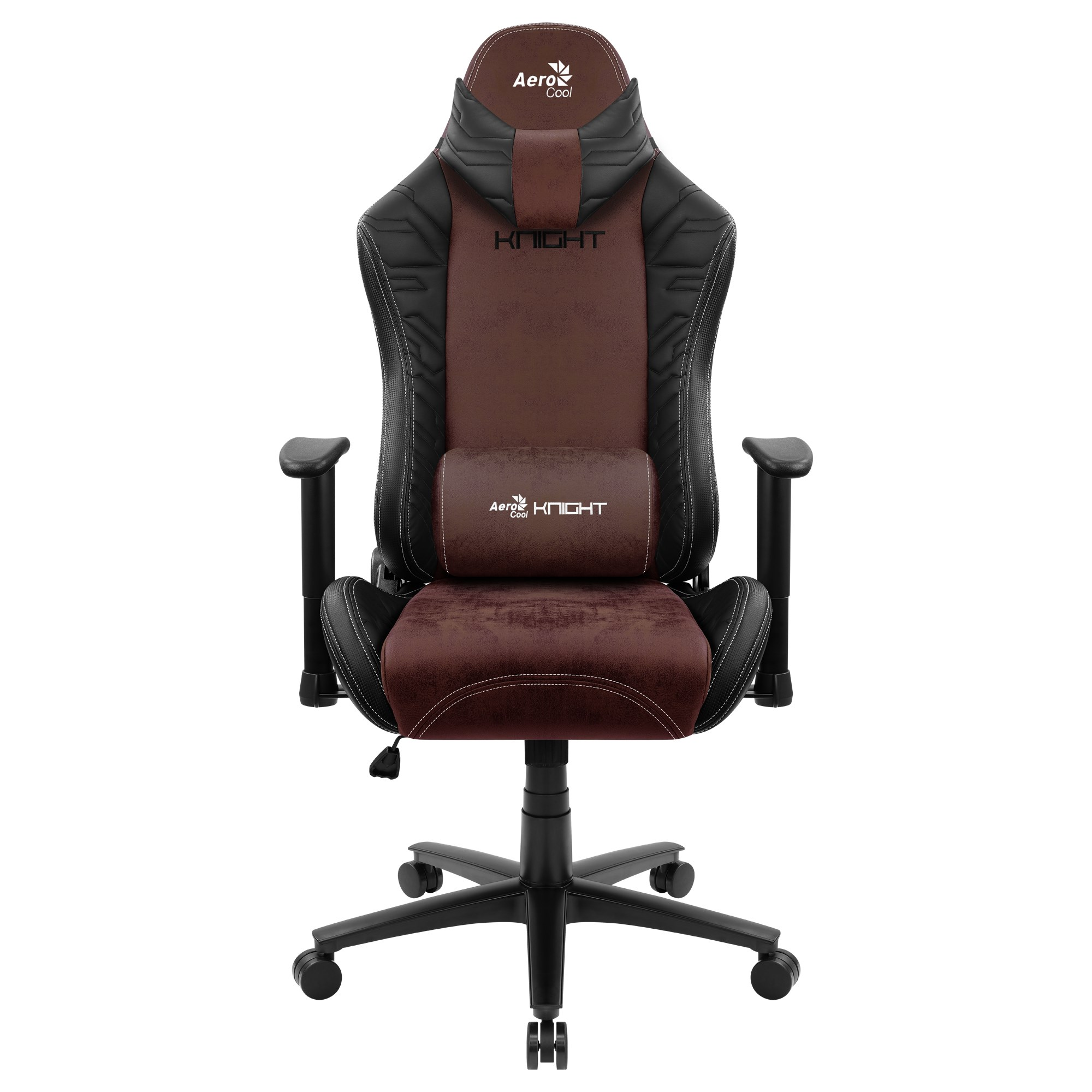 Aerocool KNIGHT, Gaming Chair, AeroSuede Breathable, Backstop Adjustable, Red