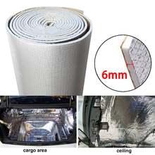 6 мм 236mil толстое алюминиевое волокно глушитель хлопок авто