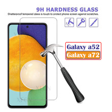 Galaxy A72 Glass Screen Protector For Samsung Galaxy A52 A 72 Glass Tempered Film On Samsun a 52 52a galaxya72 Screen Protector