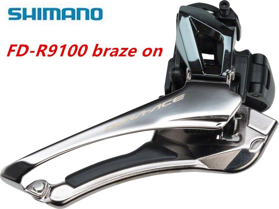 NEW Shimano Dura Ace FD-R9100 Road Bike Double Front Derailleur Braze on 2x11