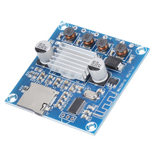 Digital Amplifier Board Module Dual Channel DC12-24V 15W+15W Support Memory Card For Bluetooth Amplifier Board dc 12 24v 15 15w digital amplifier board module volume adjustable dual channel