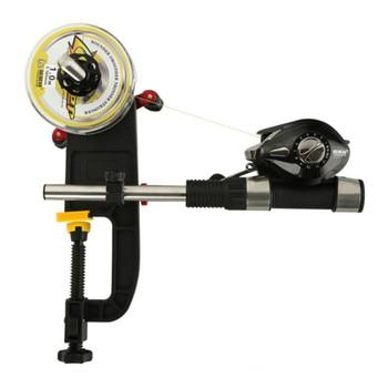 Vislijn Winder Spooler Systeem Machine Reel Spooler Draagbare Aluminium Vislijn Winder Reel Spool Station