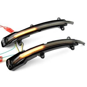 Image 4 - Dinamica del Segnale di Girata LED Specchietto retrovisore Laterale Indicatore di Direzione Lampeggiante Ripetitore Luce Per Audi Q5 SQ5 8R 2010 2017 Q7 facelift 2010 2015
