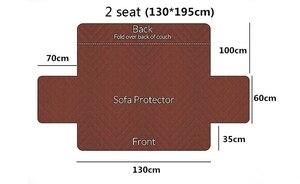 Image 5 - โซฟาสำหรับห้องนั่งเล่น Protector ที่นอนเก้าอี้โซฟาที่นั่งยืด Futon recliner Slipcovers มุม Lounge