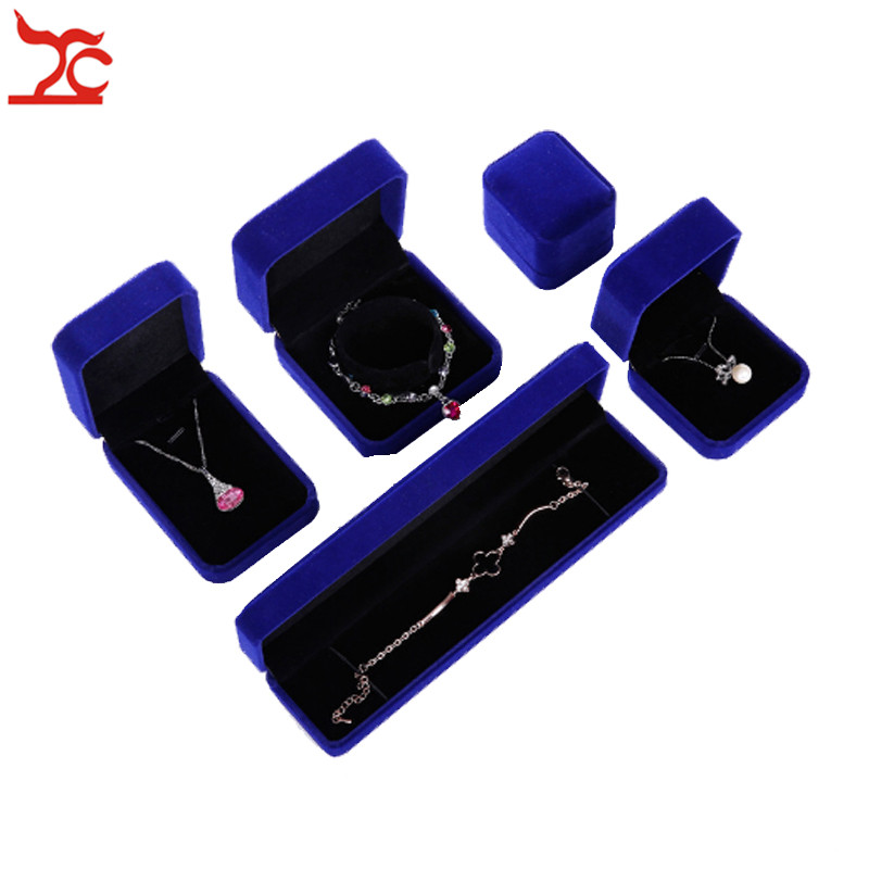 Wedding Engagement Jewelry Ring Box Pendant Necklace Earrings Bracelet Jewelry Storage Package Organizer Gift Boxes