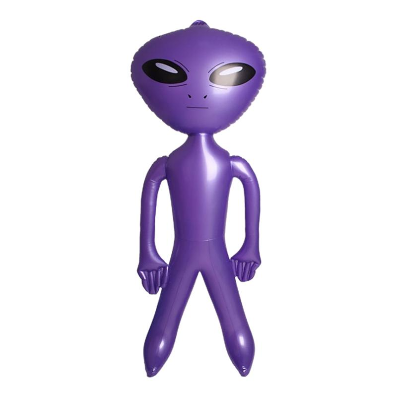 1pc Party Inflatable Alien Decor Halloween Decor  Inflatable Model for Kid Party Festival Mall