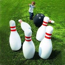 Забавные детские уличные игрушки, детские интерактивные мини-боулинг для отдыха, обучение, забавные спортивные игрушки с шариками и булавк...