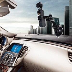 Image 5 - Araba vantuz osmo cep baz tutucu uyumlu spor aksiyon kameraları dji osmo cep kamera gimbal aksesuarları