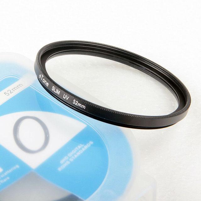 ETone Ultra Sottile 52 millimetri Filtro UV Per Nikon 50 millimetri f1.8D AFS DX 18 55mm 3.5 5.6G