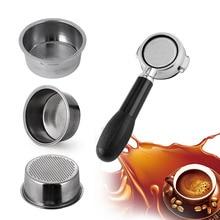 Чашка Фильтра для кофе 51 мм без давления фильтр корзина для Breville Delonghi фильтр Krups Кофе продукты Кухня Аксессуары для дома