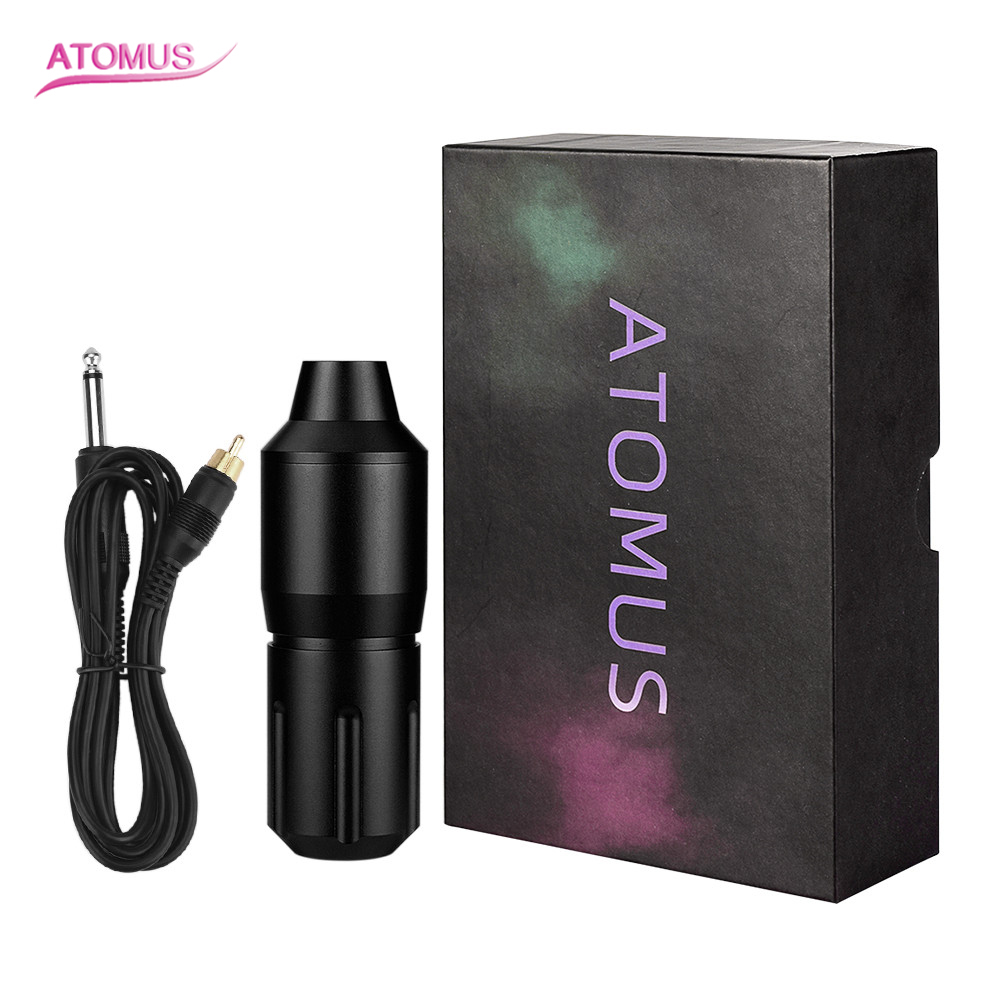 New Tattoo Pen Rotary Tattoo Gun Shader Liner Electric Needle Machine RCA Power Cable Motor Tattoo Cartridges For Tattooist