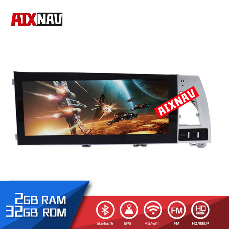 10.1 <font><b>Inch</b></font> Auto GPS Navigation Touch Screen <font><b>Android</b></font> Car Multimedia Player for <font><b>Audi</b></font> <font><b>A6</b></font> Autoradio Audio 1 Din Bluetooth Mirror Link image