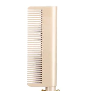 Image 5 - Düzleştirici elektrikli tarak değnek saç Curling ütüler saç bigudi tarak sıcak düzleştirici elektrikli tarak titanyum alaşımlı