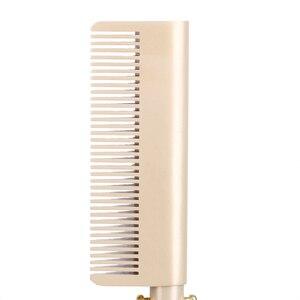 Image 5 - Haarglätter Elektrische Kamm wand Haar Curling Irons haar curler Kamm Heißer Richt Elektrische Kamm Titan Legierung