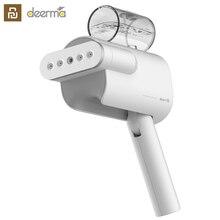 2019 youpin deerma 220 v handheld vestuário steamer doméstico portátil ferro a vapor roupas escovas para eletrodomésticos