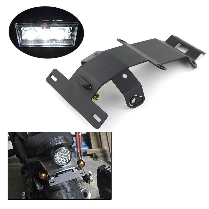 Pour Yamaha XSR700 2015 2016 2017 2018 2019 2020 kit d'éliminateur de garde-boue arrière support de plaque d'immatriculation XSR 700 2015-2020