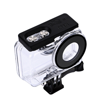 Waterproof Dive Housing Case Camera Lens Protective Cover Shell for Insta360 ONE R Dual-Lens 360 Panoramic Camera