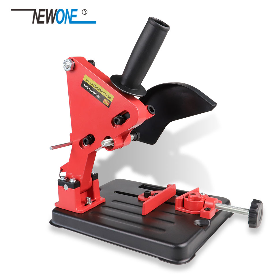 NEWONE Angle Grinder Bracket Holder Support for 100-125 Angle Grinder DIY Cutting Stand Power Tools Accessories Stander