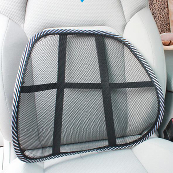 Lumbar Back Support Spine Posture Correction Back Pillow Car Cushion For Car Truck Seat Office Chair Car Chair Waist Bolster image