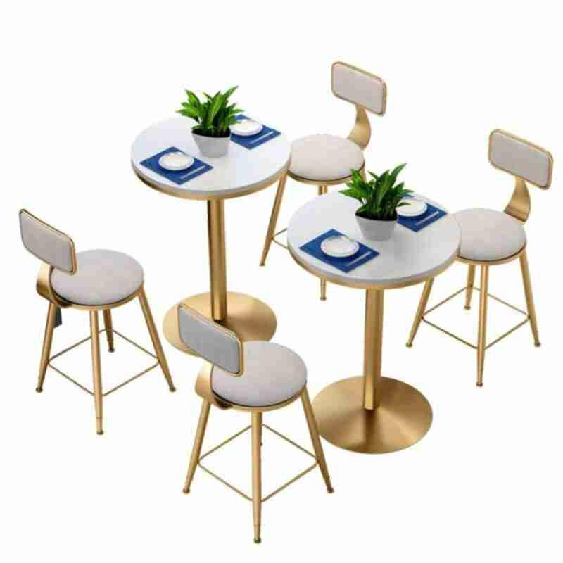 Net Red Tea Shop Tables And Chairs Combination Dessert  Cafe    Restaurant Nordic Simple Fresh Casual Small R