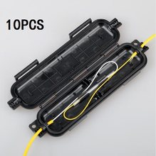 FTTH drop cable protection box Optical fiber box heat shrink tube to protect splice tray waterproof ftth kit fibra optique box