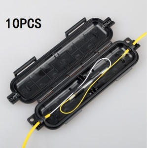FTTH drop cable protection box Optical fiber box heat shrink tube to protect splice tray waterproof ftth tool fibra optique box