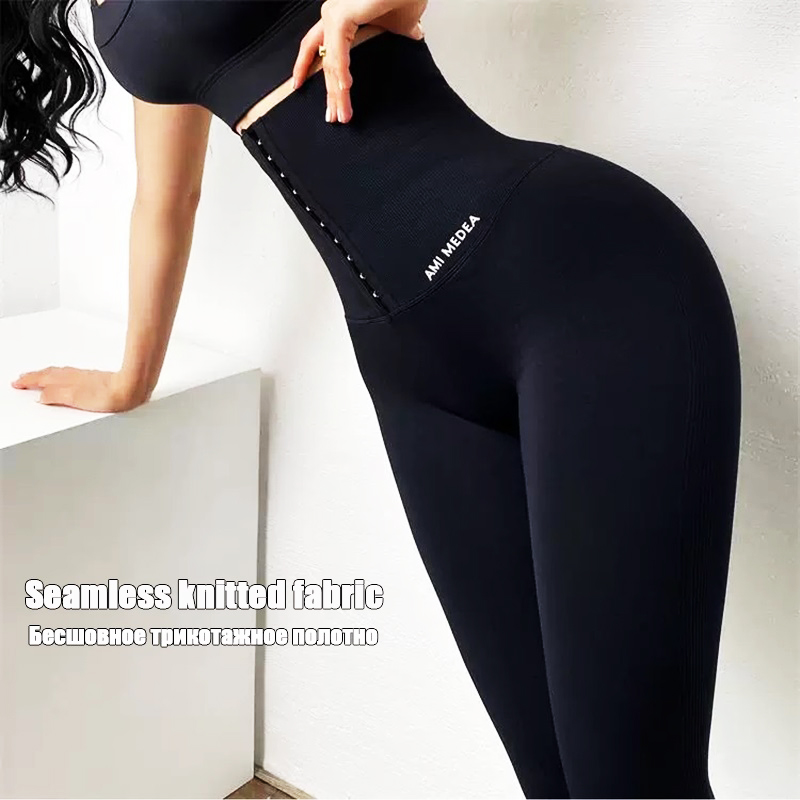 Twinso sıcak pantolon yüksek bel eğitmen zayıflama karın kontrol külot seksi popo kaldırıcı spor Legging uzun spor tayt Shapewear