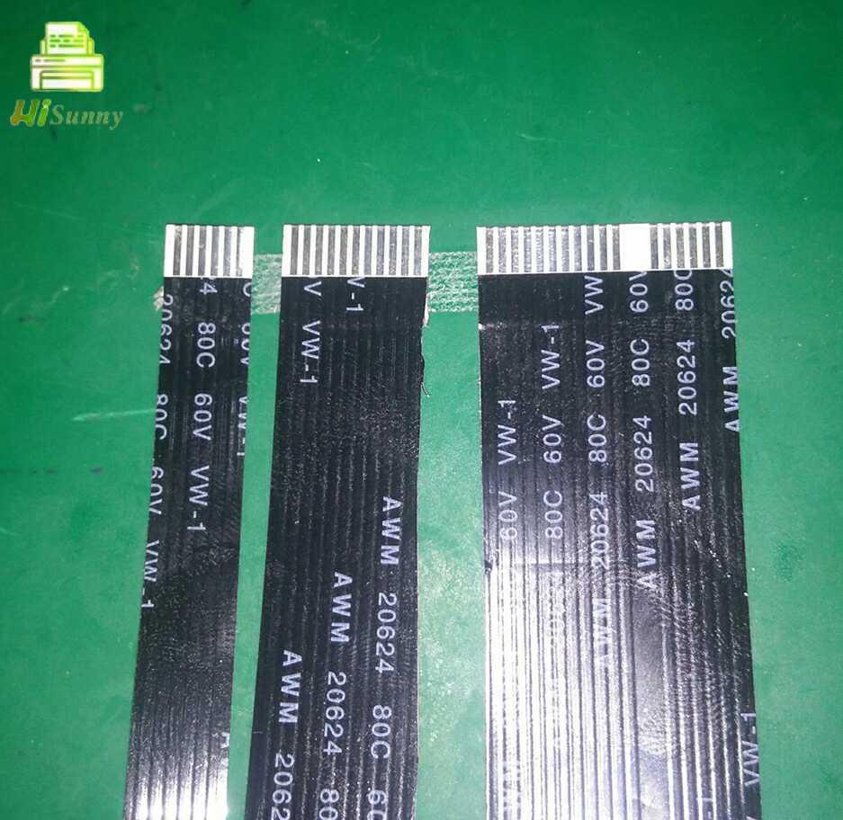 10 pces para o cabo do varredor de hp m180n m181fw