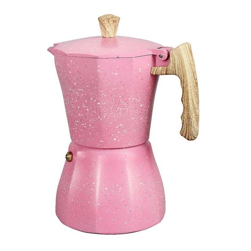 Кофеварка для приготовления эспрессо на варочной панели-кофеварка для приготовления эспрессо на Газу или электрической плите-3 чашки кофев...