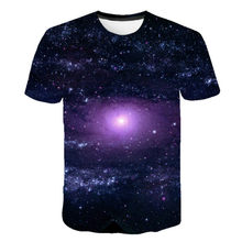 2021 Summer New Men's Short Sleeve T-shirt 3D Round Neck Harajuku Psychedelic T-shirt XXS-6XL