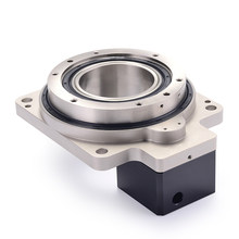 High-precision electric turntable hollow rotating platform planetary gearbox reducer ratio 10:1 for 60mm 400W AC servo motor