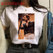 90s Harry Styles Harajuku Graphic Tshirt Women Fine Line Aesthetic Ullzang T-shirt Treat People with Kindness T Shirt Top Tee
