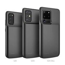 Примечание 10 жидкий силиконовый чехол питания для samsung Galaxy Note 10 Plus ударопрочный чехол для зарядного устройства для аккумулятора чехол для м...