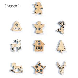 100PCS Christmas Decorations C