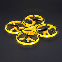 New LED Night Light USB Charging RC Quadcopter Stunning Light Novelty Lamp Micro Drone Remote Control Helicopter Toys Kid Gift