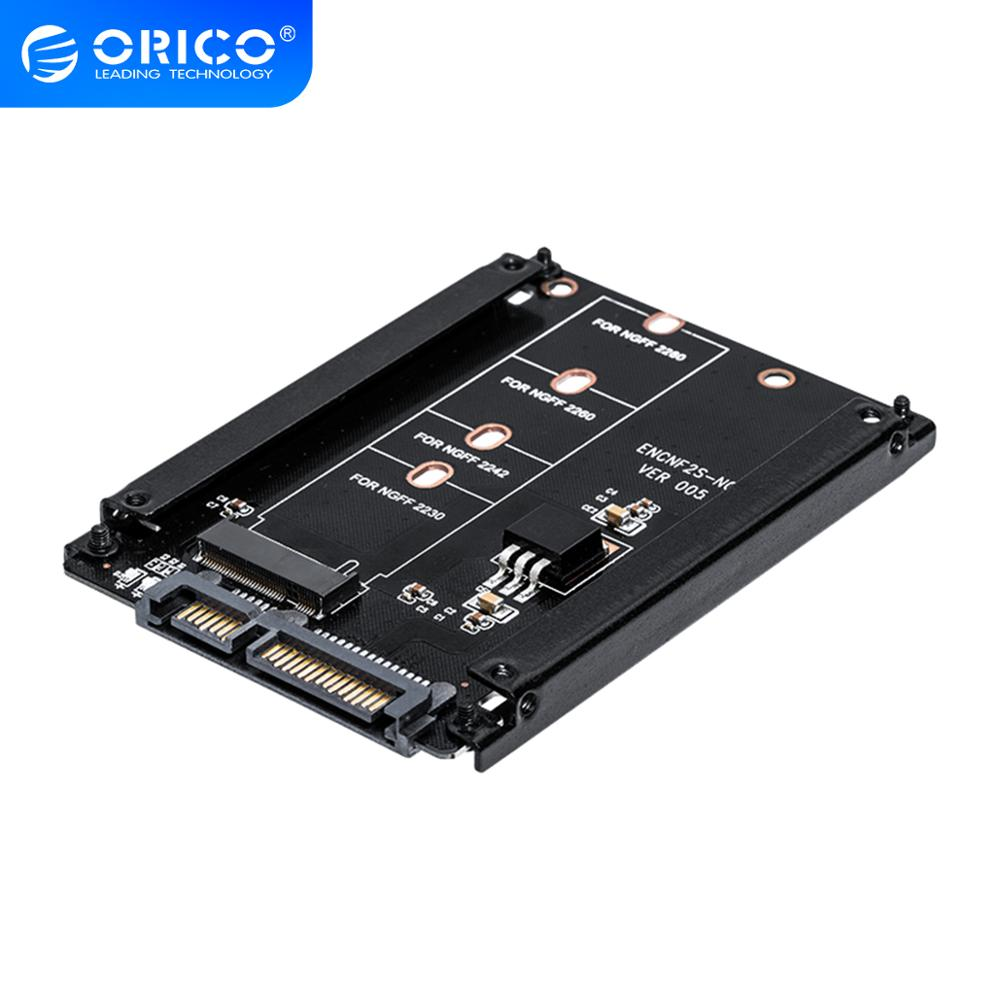 ORICO M.2 NGFF SSD to 2.5 SATA Adapter for 2230/2242/2260/2280mm M2 NGFF SSD Solid State Hard Drive M2 NGFF to SATA 22PIN