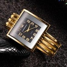 Watch Square Dial-Dress Luxury Bracelet Clock Steel Top-Brand Mujer Reloj Casual