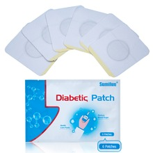 48pcs=8bags Diabetic Patch Chinese Herbal Stabilizes Blood Sugar Level Lower Blood Glucose Sugar Balance New Plaster