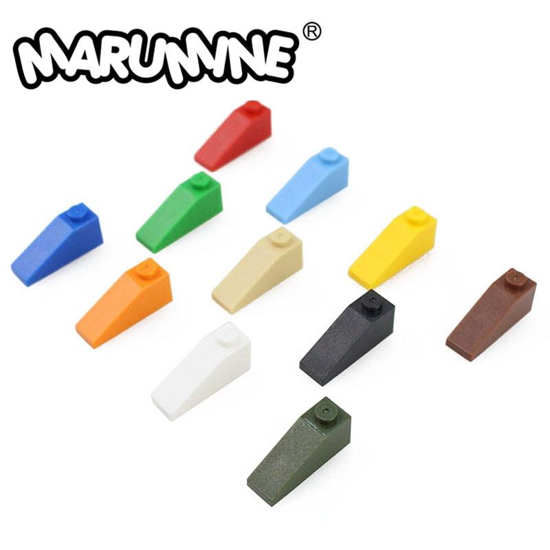 Marumine 1x3 инвертированные кубики MOC игрушки 50 шт. 4286 классические строительные блоки Обучающие DIY строительные детали для детей
