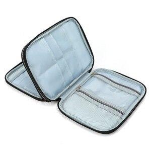 Image 5 - Koknit vazio tricô agulhas caso organizador de armazenamento de viagem saco de armazenamento para agulhas de tricô circular e outros acessórios